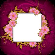 Barbary Flower Photo Frame