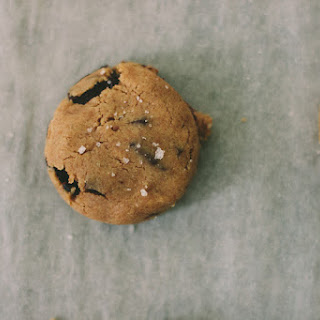 Whole Wheat Chocolate Chip Cookies. With Spelt, and Fleur de Sel, and Cacao Nibs..