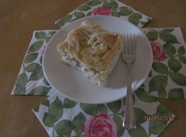 Enjoy a slice of Chicken Pie!