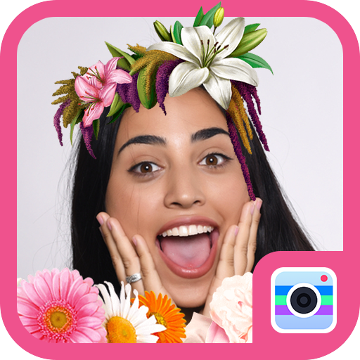 Crown Flower Camera-Free lovely&beauty sticker file APK for Gaming PC/PS3/PS4 Smart TV