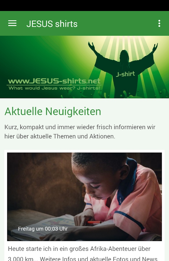 JESUS-shirts.net- screenshot