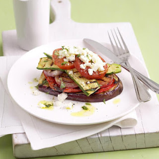 Grilled Mediterranean Vegetables with Feta