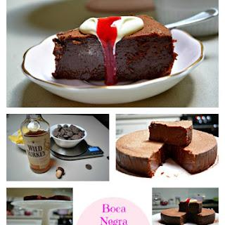 Boca Negra (Fudgy, moist, chocolate cake)