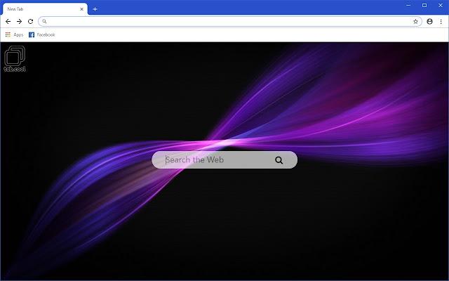 Cool Purple HD Colors New Tab Theme