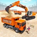 Heavy Sand Excavator Simulator: Road Construction icon