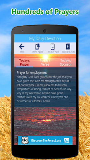 My Daily Devotion - Bible App & Caller ID Screen Screenshot