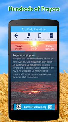My Daily Devotion Bible App - screenshot