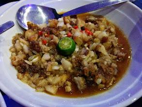 Photo: Pork Sisig + Beef Kare-Kare + Lechon Kawali + Bagoong Rice for a gastronomic dinner.