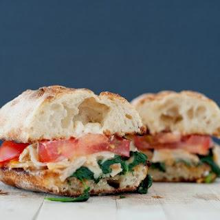 Sautéed Spinach & Turkey Sandwich