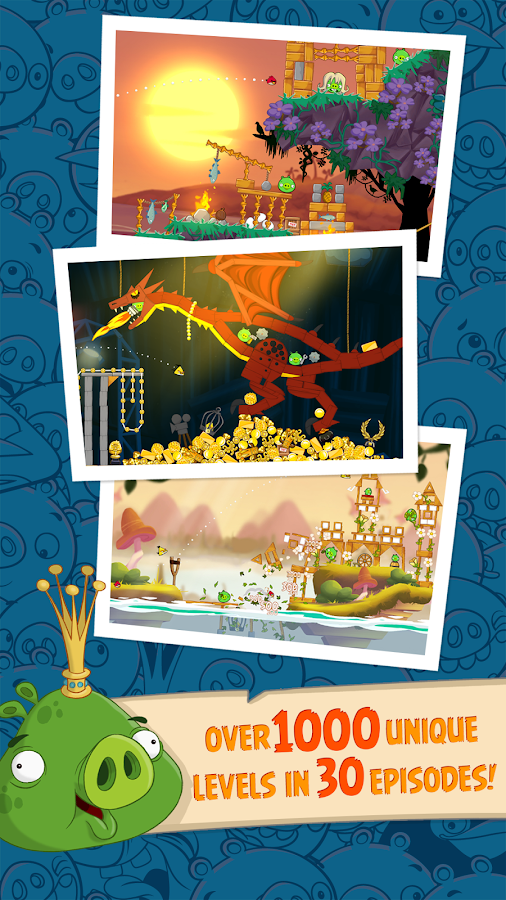 Angry Birds Seasons- screenshot