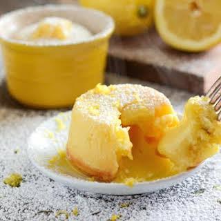 Lemon Lava Cake.