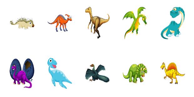 Alphabet Puzzle Dinosaur ABC - náhled