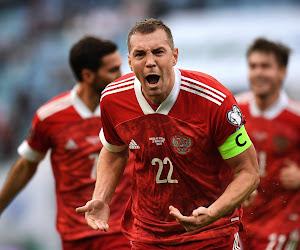 La Russie, adversaire des Diables à l'Euro, révèle sa liste de 30 joueurs