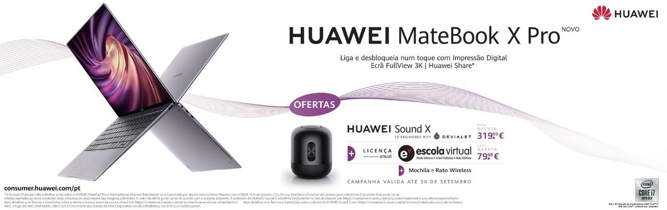 Huawei Matebook X Pro chega a Portugal