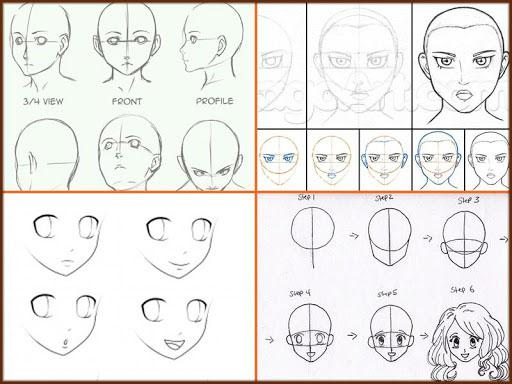 Drawing Anime Step by Steps 2018 screenshots 7