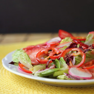 Strawberry-Balsamic Salad Dressing.