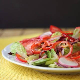 Strawberry-Balsamic Salad Dressing.