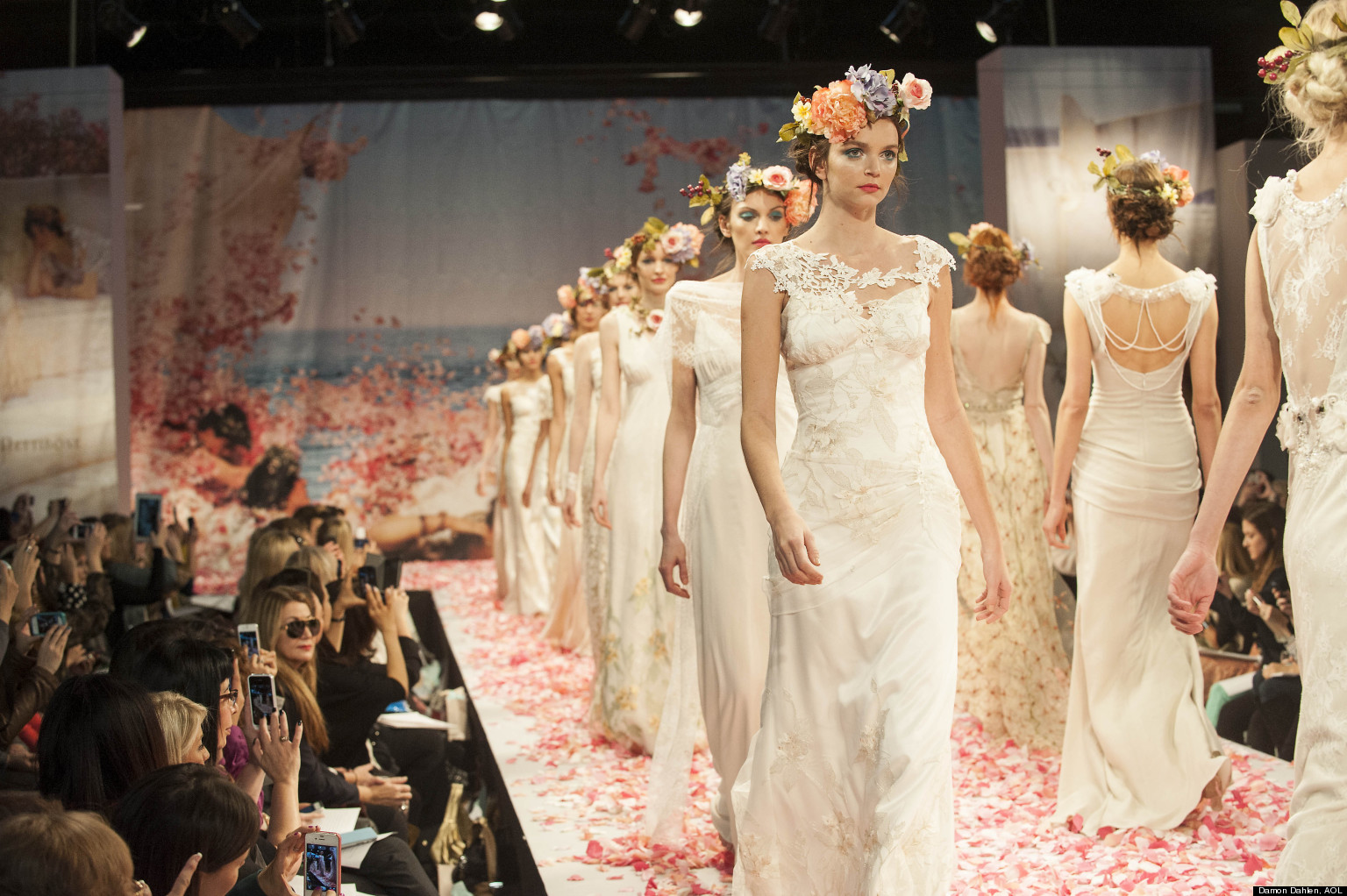 What It S Like Walking In A Bridal Fashion Show