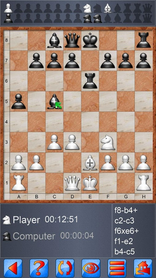 Screenshots of Chess V+ for iPhone