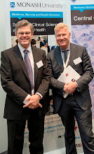 Photo: Profs Ian Davis (head of Eastern Health Clinical School) and Steve Jane (Central Clinical School) http://www.med.monash.edu.au/cecs/events/2015-tr-symposium.html