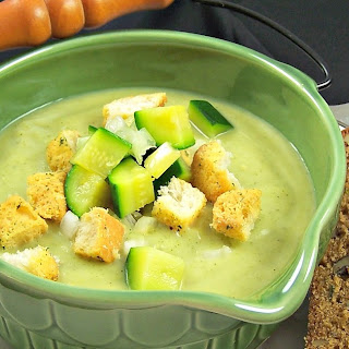 Zucchini and Rosemary Vichyssoise