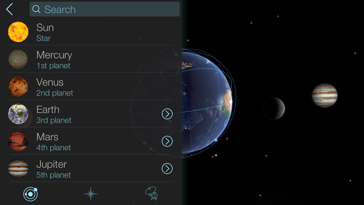 Solar Walk Lite - Solar System- screenshot