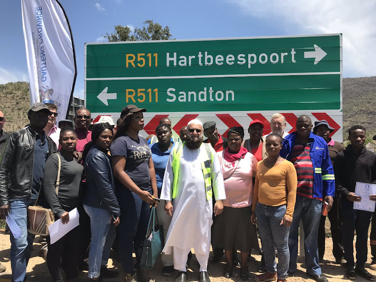 Gauteng Roads and Transport MEC Ismail Vadi officially opened R511 to Hartebeespoort Dam and North-West Province on October 22 2018