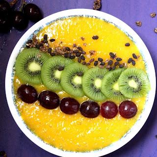 Mango Smoothie Breakfast Bowl Recipe