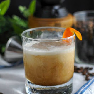 Cold Brew Bourbon Cocktail.