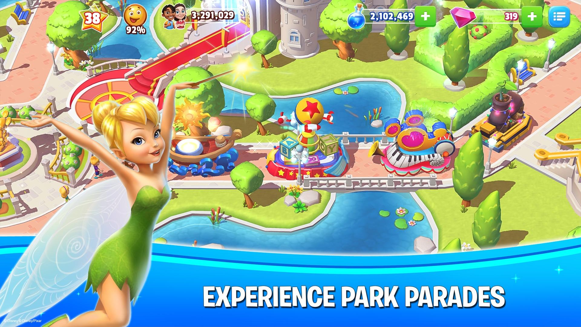 Disney Magic Kingdoms screenshot #11