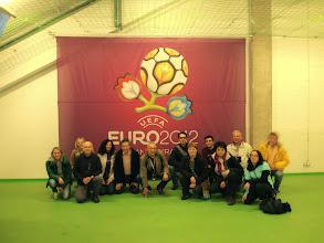 Photo: A l'estadi de futbol