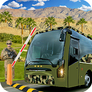 Drive Army Bus Transport Duty Us Soldier 2019