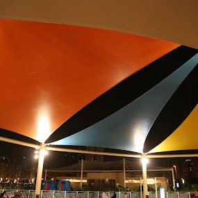 Canopy by Manoj Ojha - City,  Street & Park  City Parks ( al-majaj water front, canopy, park, uae, buhaira corniche, sharjah )