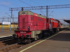 Photo: T448p-048 & TEM2-169 (Orlen KolTrans) {Toruń Wschodni; 2014-09-23}