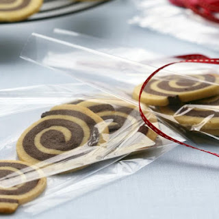 Chocolate Orange Pinwheel Cookies.