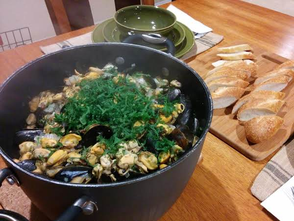 These Mussels Ain't From Brussels! Recipe