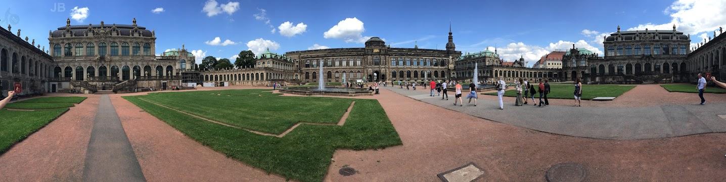 Zwinger - panorama