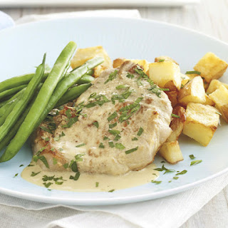 Pork Chops with Dijon.