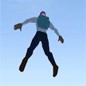 Skydiver 3D icon