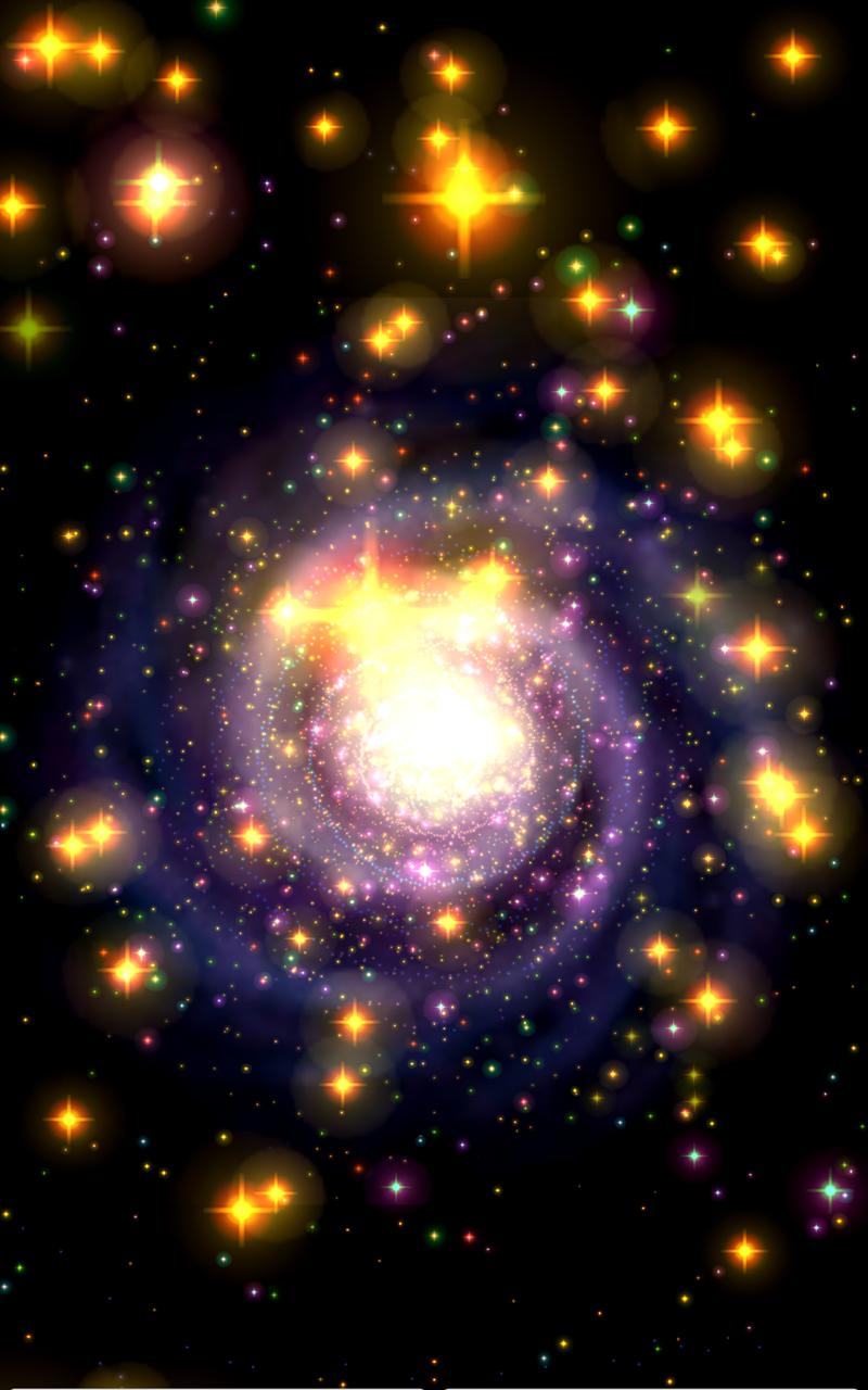 Galaxy Journey Music Visualizer Pro Screenshot 2