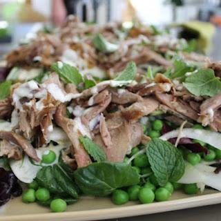 Pulled Pork Salad.