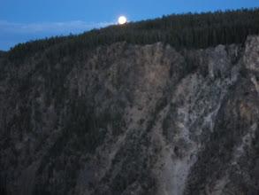 Photo: Moonrise at Inspiration Point