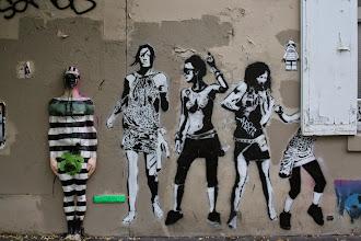 Photo: Street art -Urban solid -Sobr  - Paris XIIIe -La butte aux cailles
