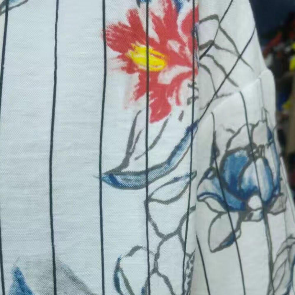 🌼直紋繪花Tee🌼