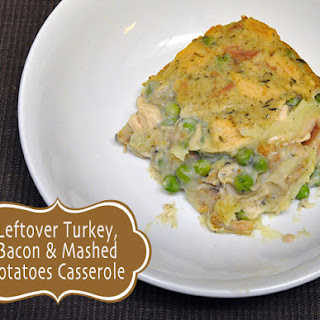 Creamy Turkey, Bacon & Mashed Potatoes Casserole {Good Cook Leftover Recipe #32}.