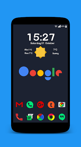 Matericons Icon Pack Apps for Android screenshot
