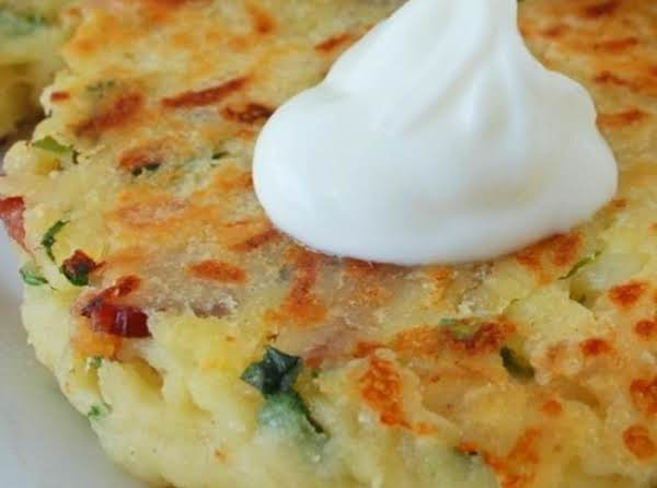 Loaded Potato Cakes Recipe