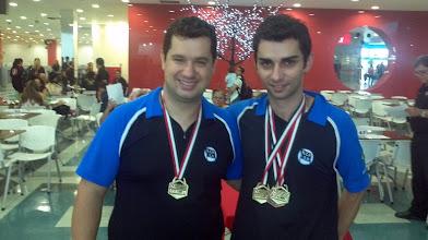 Photo: Igor Pizzoli & Renan Zoghaib, Maior Partida (540) nas duplas masculinas 1.ª divisão