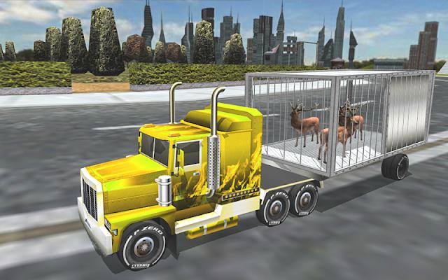 Animal Cargo Transport 3D Simulator - screenshot