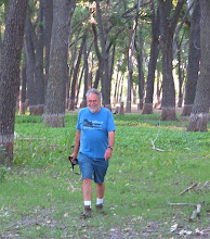 Photo: Sherry snapped a photo of me as I returned to the campground.